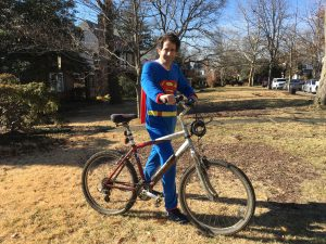 What Happened When I Accepted a $25 Dare to Wear Superman PJs in Public