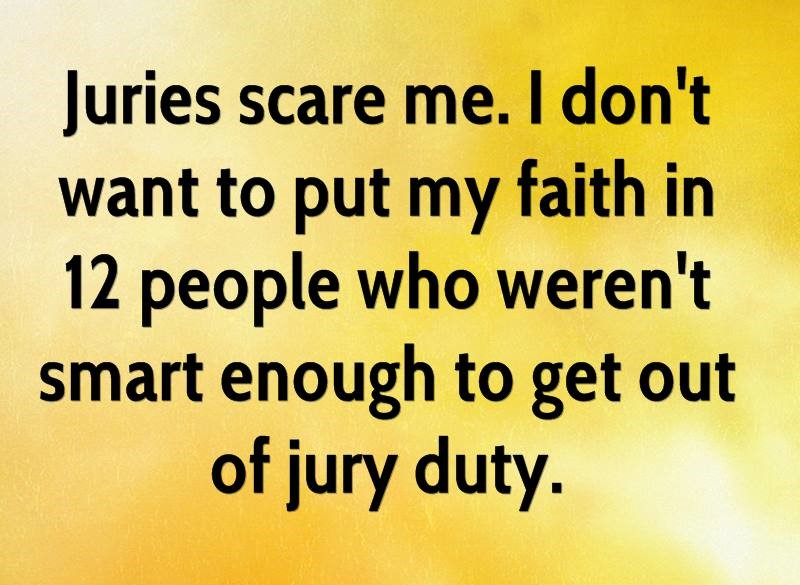 How My Attempt to Avoid Jury Duty Led to Loss - Personal